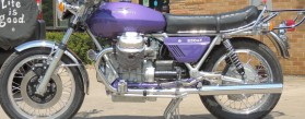 1975 Moto Guzzi 850T Full Restoration